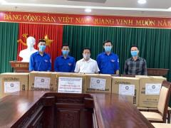 Hội Sinh viên Bắc Giang đa dạng hoạt động phòng chống Covid-19