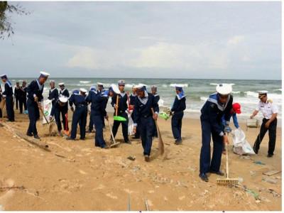 Thanh niên quân đội với bảo vệ môi trường