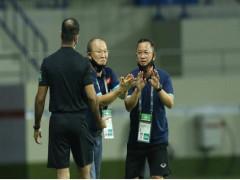 HLV Park: 'Tôi không nên nói về trọng tài'
