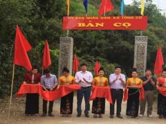 Thuận Châu dồn sức hỗ trợ xã Tông Cọ xây dựng nông thôn mới