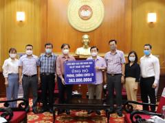Liên hiệp các Hội Khoa học và Kỹ thuật Việt Nam ủng hộ phòng chống dịch Covid 19