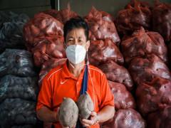 Người đàn ông giải cứu khoai lang tím cho nông dân miền tây