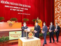 Quảng Ninh: Kiện toàn nhân sự chủ chốt khóa XIV, nhiệm kỳ 2021 – 2026