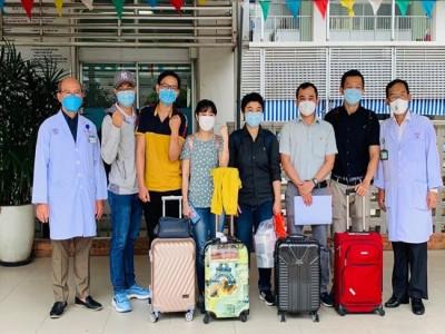 Đội phản ứng nhanh bệnh viện Chợ Rẫy lên đường hỗ trợ bệnh viện điều trị covid-19 Cử Chi