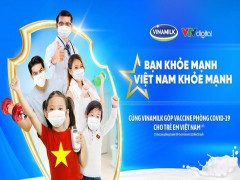"""Vinamilk khởi động chiến dịch """"Bạn khỏe mạnh, Việt Nam khỏe mạnh"""" với hoạt động góp Vaccine phòng Covid-19 cho trẻ em"""