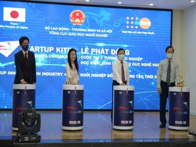 """Phát động Cuộc thi """"Ý tưởng khởi nghiệp học sinh, sinh viên giáo dục nghề nghiệp"""" năm 2021- Startup Kite"""