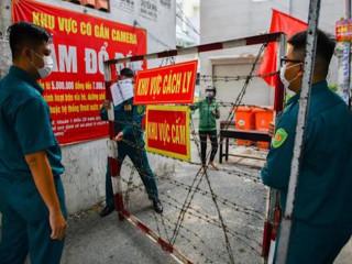 TP.HCM phong tỏa thêm nhiều khu vực huyện Hóc Môn từ 0h ngày 25/6