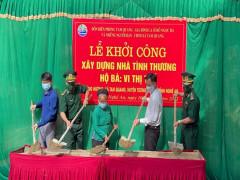Đồn Biên phòng Tam Quang khởi công xây nhà tình nghĩa, giữa mùa covid