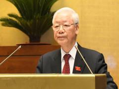 Toàn văn phát biểu của Tổng Bí thư Nguyễn Phú Trọng tại phiên khai mạc Kỳ họp thứ nhất, Quốc hội khoá XV