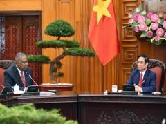 Thủ tướng Phạm Minh Chính tiếp Bộ trưởng Quốc phòng Hoa Kỳ
