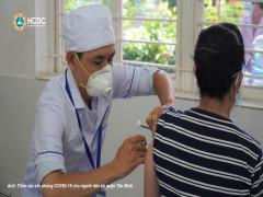 TP. HCM: Toàn bộ người dân trên 18 tuổi sẽ được tiêm vắc-xin phòng COVID-19