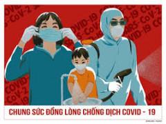 Quán triệt lời kêu gọi phòng, chống đại dịch covid -19 của Tổng Bí thư Nguyễn Phú Trọng: Với tinh thần đoàn kết, quyết tâm cao, toàn dân tộc muôn người như một , đồng lòng quyết ngăn chặn, đẩy lùi COVID -19