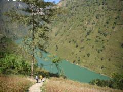 Hà Giang sẽ phát triển du lịch mạo hiểm ở hẻm vực Tu Sản, sông Nho Quế