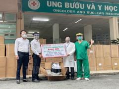 Tập đoàn Phương Trang trao tặng máy trợ thở, máy tạo oxy cho các bệnh viện tại TPHCM