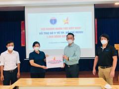 Hội DNT Việt Nam hỗ trợ 1000 bình Oxy cho Sở Y tế TP. Hồ Chí Minh