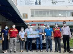 Tặng bệnh viện xe cấp cứu cộng đồng