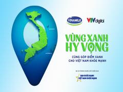 """Vinamilk tiếp tục lan toả thông điệp """"Bạn khoẻ mạnh, Việt Nam khoẻ mạnh"""" với dự án """"Vùng xanh hi vọng"""""""
