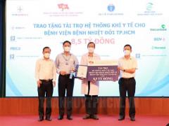 Bàn giao hệ thống cấp oxy cho Bệnh viện Bệnh Nhiệt đới TPHCM