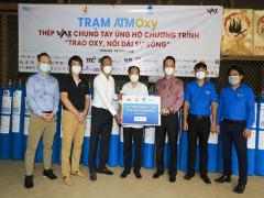Khai trương trạm bơm Oxy quận 7 hỗ trợ ATM Oxy Doanh nhân trẻ