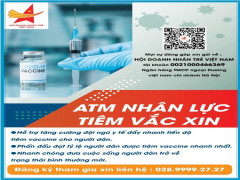 Hội DNT Việt Nam phát động Chương trình ATM Nhân lực tiêm Vaccine để đẩy nhanh tiến độ tiêm chủng tại TP. Hồ Chí Minh