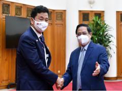 Thủ tướng Phạm Minh Chính tiếp Bộ trưởng Bộ Quốc phòng Nhật Bản