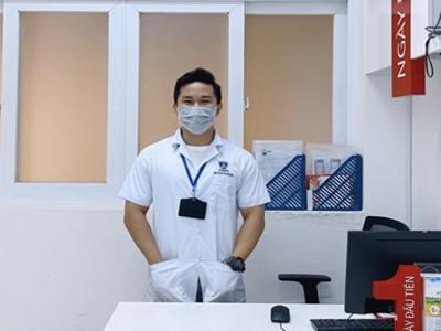Nguyễn Văn Thành Tài - Chàng sinh viên khoa Dược  năng nổ tham gia tình nguyện chống dịch