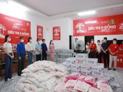 'Share Mart - Siêu thị 0 đồng' thứ 2 đã khai trương tại 347 Đội Cấn  phục vụ kịp thời người dân khó khăn Thủ Đô trong đại dịch