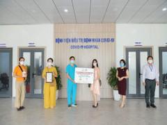 Tặng viên dinh dưỡng Survival Tabs  cho Bệnh viện điều trị Covid-19 Hà Nội