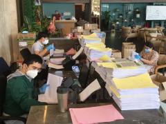 Hội Doanh nhân trẻ TP.HCM hỗ trợ Bệnh viện Thống Nhất số hóa hồ sơ tiêm chủng vaccine Covid-19
