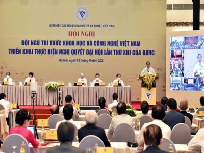 Thủ tướng đặt hàng các nhà khoa học, các trí thức nhiều đề tài quan trọng để đưa đất nước phát triển nhanh và bền vững