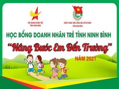 Doanh Nhân trẻ Ninh Bình Nâng bước em đến trường