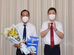 Tiến sĩ, Bác sĩ Nguyễn Anh Dũng giữ chức Phó Giám đốc Sở Y tế TPHCM