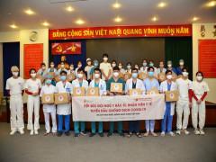 Du lịch Hàn Quốc đồng hành cùng Việt Nam tiếp sức đội ngũ y bác sĩ tuyến đầu chống dịch