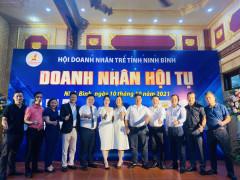 Doanh nhân trẻ Ninh Bình phát huy tinh thần đoàn kết cùng nhau vượt khó, chung tay vì cộng đồng xã hội