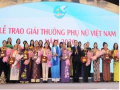 Lễ trao Giải thưởng Phụ nữ Việt Nam và Cuộc thi Phụ nữ khởi nghiệp năm 2021