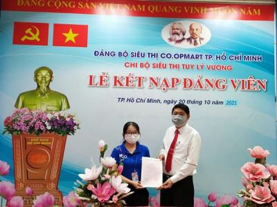 Bí thư Đoàn cơ sở Co.opmart Tuy Lý Vương (quận 8) trưởng thành trong mùa dịch
