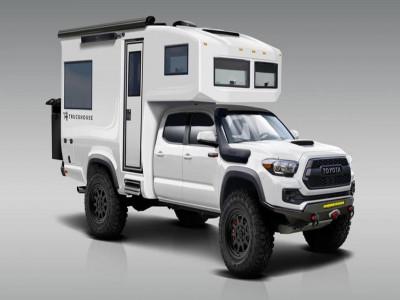 Bán tải Toyota Tacoma TRD biến hóa xe cắm trại tối thượng với giá 8,79 tỷ đồng