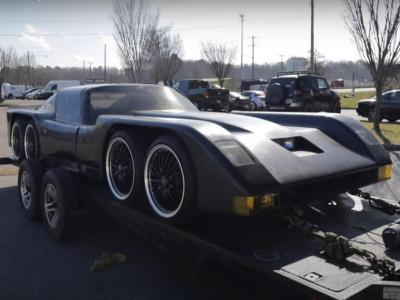 Chiếc xe 8 bánh quái dị, tự chế từ thập niên 80 này trông như