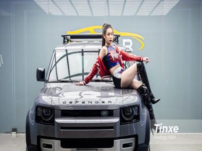 Cô nàng cá tính và Land Rover Defender SE - cặp đôi khiến cánh mày râu không thể rời mắt