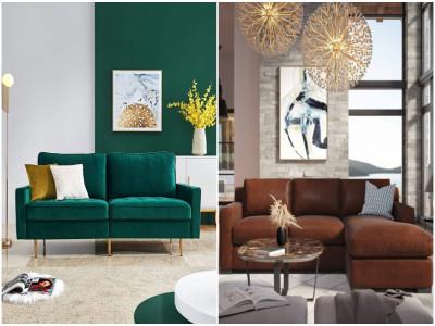12 mẫu ghế sofa nhỏ nhìn là mê