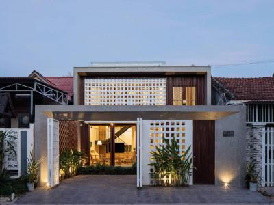 Một ngôi nhà đẹp trên cao nguyên Kon Tum