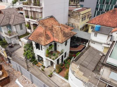 Kiến trúc quán cà phê kết nối giữa hiện tại và quá khứ