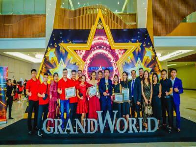 Vietstarland trở thành Đại lý xuất sắc nhất dự án Grand World Phú Quốc