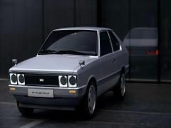 Hyundai Pony 1975 được phục chế thành xe điện, nội thất cực chất kèm hệ thống đèn pixel độc đáo