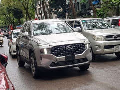 Tóm gọn Hyundai Santa Fe 2021 bản xe chở tiền lăn bánh tại Hà Nội