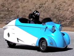 Messerschmitt - nhà sản xuất máy bay Thế Chiến II - phục sinh mẫu xe 3 bánh KR ngộ nghĩnh
