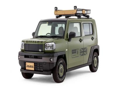 Chiếc Land Rover Defender cổ điển, dễ thương này thực chất là xe kei Nhật Bản