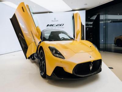 Siêu xe Maserati MC20 sẽ cập bến Việt Nam trong năm nay