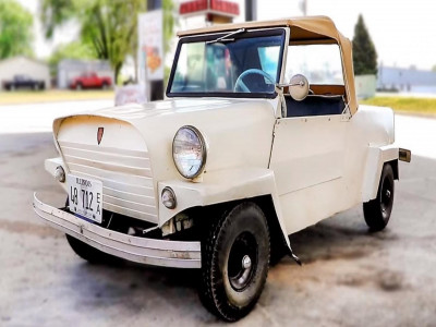 King Midget - Mẫu xe tí hon, trang bị động cơ 1 xi-lanh, giá rẻ 500 USD hiếm ai biết của người Mỹ
