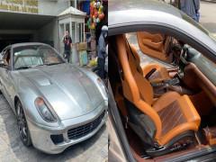 Siêu xe Ferrari 599 GTB của doanh nhân Hải Phòng lần đầu lộ ảnh xuất hiện trên đường phố